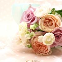 花と指輪画像