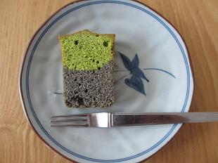 小松菜のパウンドケーキ1切れ