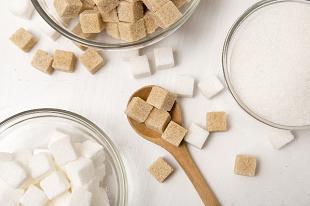 たくさんの角砂糖