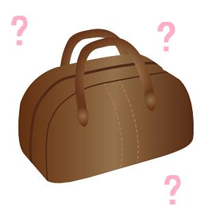 謎のボストンバッグ