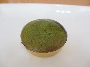 小松菜と黒ごまのカップケーキ