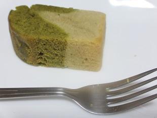 小松菜とサツマイモのパウンドケーキ