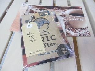 イニックコーヒー試供品