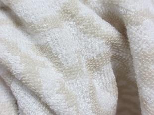 紋織タオルベージュ