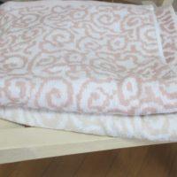 紋織タオル2枚折りたたみ