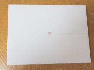 紋織タオル白い箱