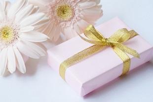 ガーベラとプレゼント
