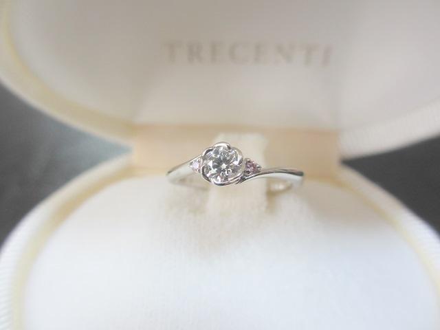 トレセンテ婚約指輪