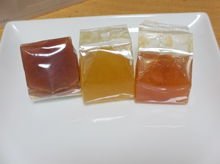 ポタジエのゼリー3種