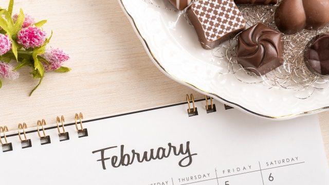 2月のチョコ